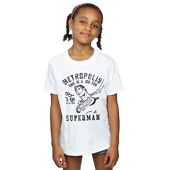 DC Comics meisjes Superman X-Ray T-Shirt