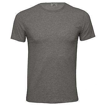 Spela klassiska Stretch Cotton Crew-Neck T-Shirt, grå