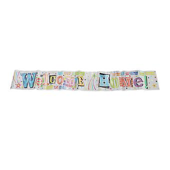 Simon Elvin Welcome Home Foil Party Banner