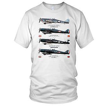 Grumman Hellcat F6 WW2 Fighter Plane Kids T Shirt