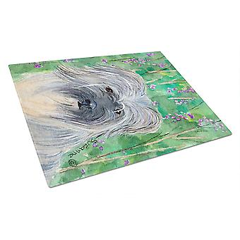 Carolines Treasures  SS1042LCB Berger des Pyrenese Glass Cutting Board Large