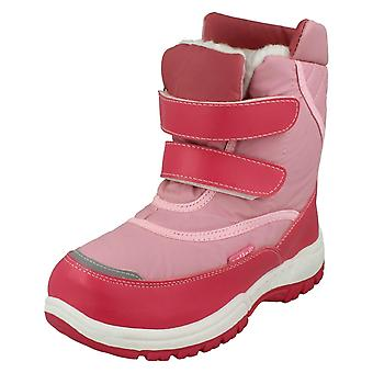 Girls Reflex Double Strap Snow Boots H4052