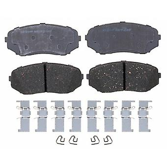 ACDelco 14D1258CH Advantage Ceramic Front Disc Brake Pad Set with Hardware