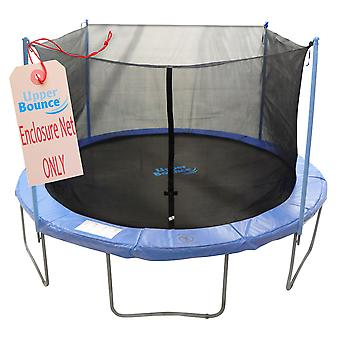 12'  Trampoline Enclosure Safety Net Fits For 12 FT. Round Frames Using 4 Poles or 2 Arches (poles not included)