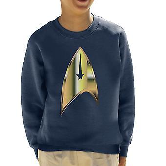 Star Trek Starfleet Badge Kid's Sweatshirt