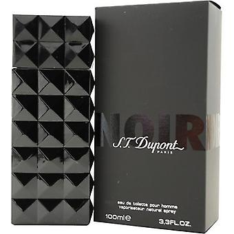 St Dupont Noir By St Dupont Edt Spray 3.3 Oz