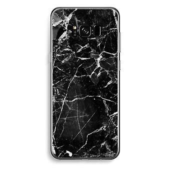 S8 de Samsung Galaxy Plus caja transparente (suave) - mármol negro 2