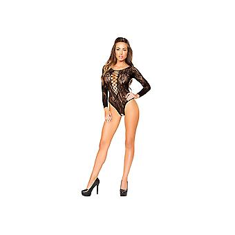 Roma RM-LI202 Long-Sleeved Romper Bodystocking