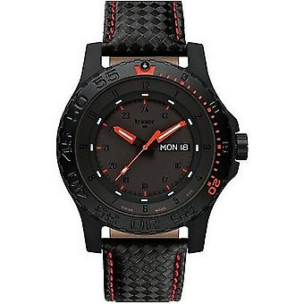 Traser H3 watch professional red combat 105502