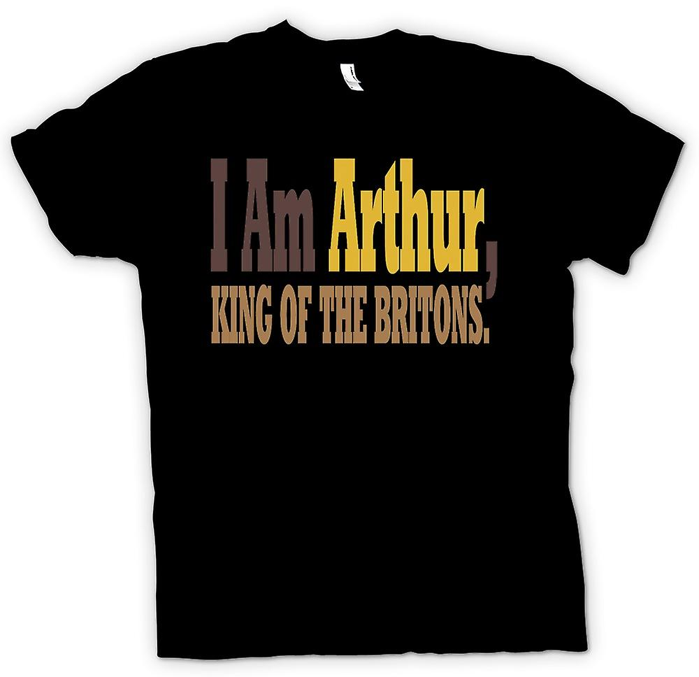 Mens t-shirt-I Am Arthur, re dei Britanni