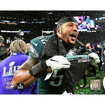 Najee Goode Super Bowl LII Photo Print