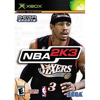 NBA 2K3 (Xbox) - Factory Sealed