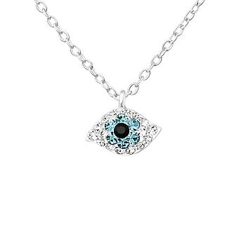 Devil Eey - 925 Sterling Silver Jewelled Necklaces - W24891x