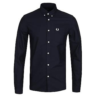 Fred Perry Navy Classic Oxford Shirt