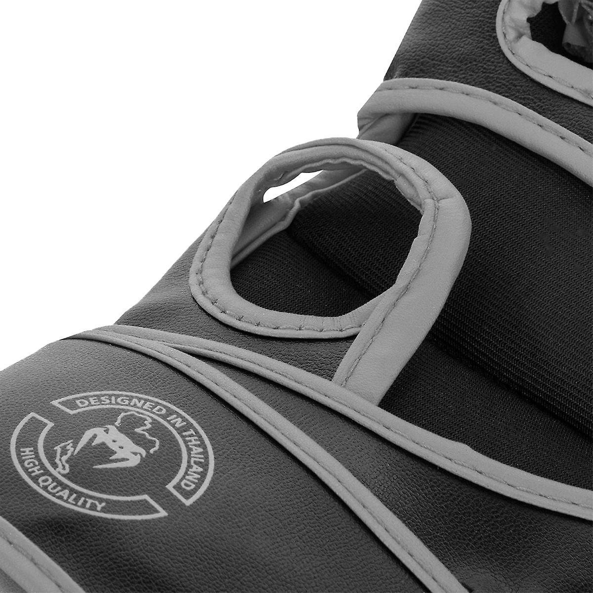 Venum Challenger Haken und Flausch MMA Handschuhe ohne Daumen schwarzgrau