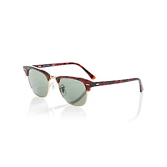 Ray-Ban Mock Tortoise-Arista-Crystal Green 0RB3016 Clubmaster - 49mm Sunglasses