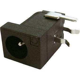 Cliff DC-10LP Low power connector Socket, horizontal mount 4 mm 2.1 mm 1 pc(s)