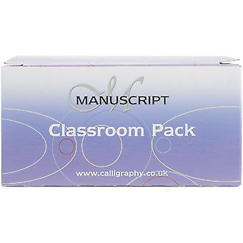 Manuscript Handwriting Pens Classroom Pack 40/Pkg-Black