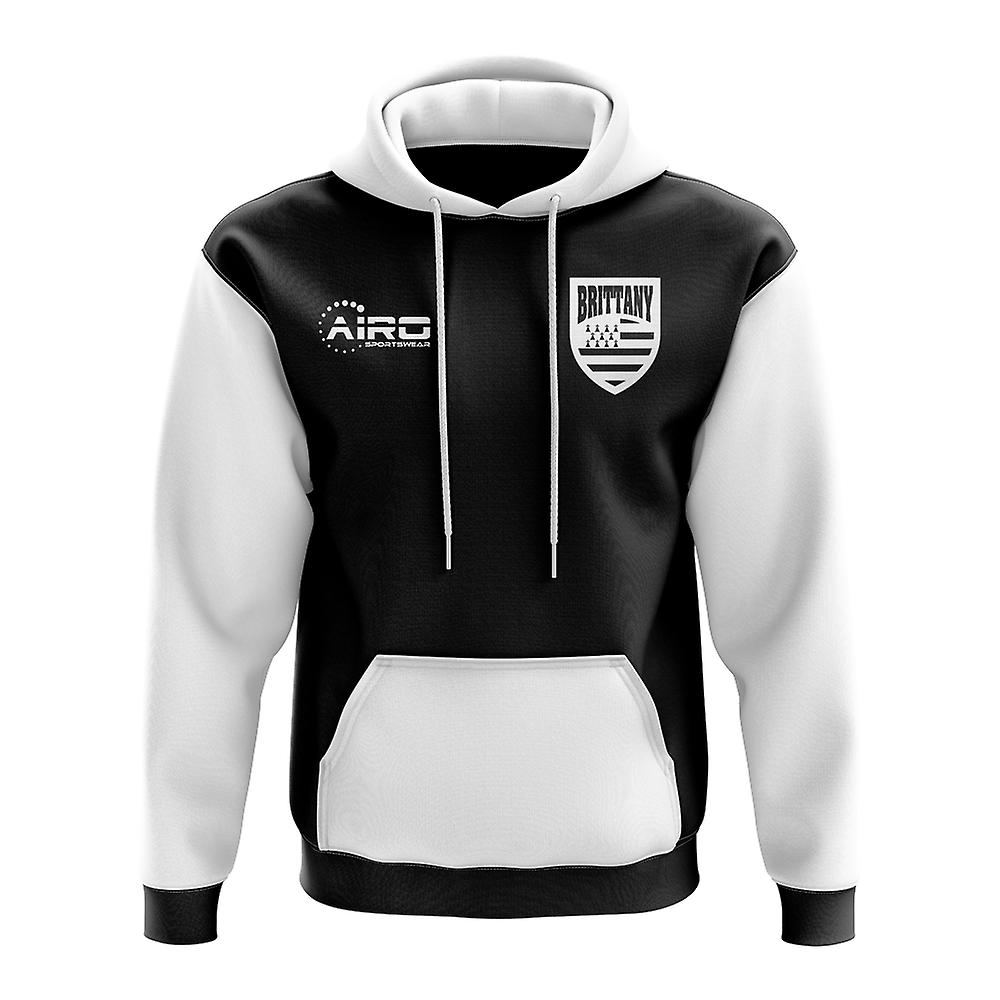 Brittany Concept Country Football Hoody (noir)