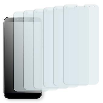 Zopo Flash X 1 screen protector - Golebo Semimatt protector (deliberately smaller than the display, as this is arched)