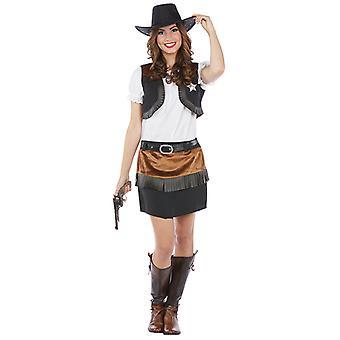 Wilde westen kostuum Cowgirl Western Lady kostuum