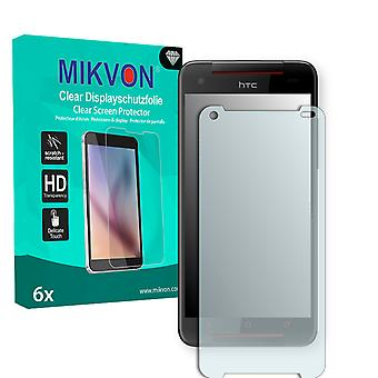 HTC 919d Screen Protector - Mikvon Clear (Retail Package with accessories)