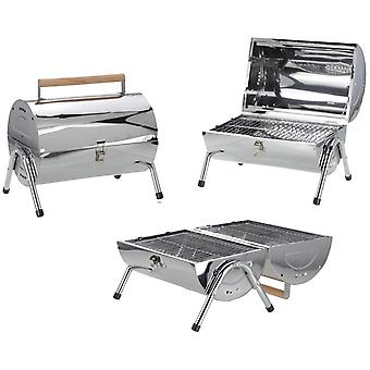 Barbecue grillade surface avec double cylindre