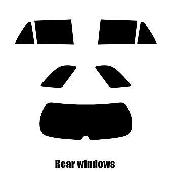 Pre cut fönstret nyans - Toyota Avensis Estate - 2003 till 2006 - bakre windows