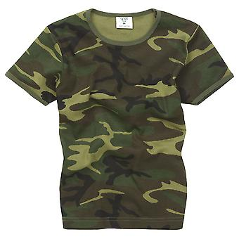 Kids New Combat Military Us Army Style T-Shirt
