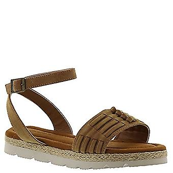 BEARPAW Women's Aubree Ankle Strap Sandals
