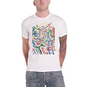 Pink Floyd T Shirt Pollock Prism DSOTM new Official Mens White