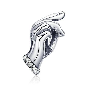 Charm in argento Sterling Handpalm