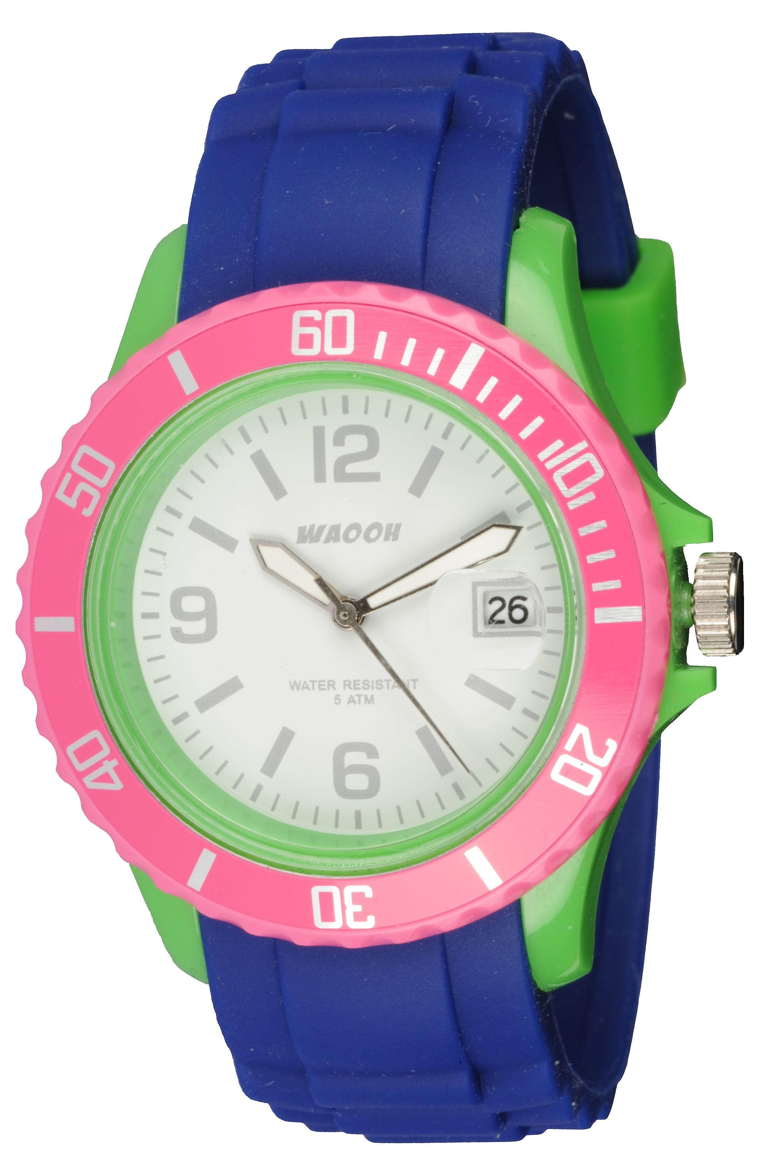 Waooh - Watch Monaco38 Multicolor