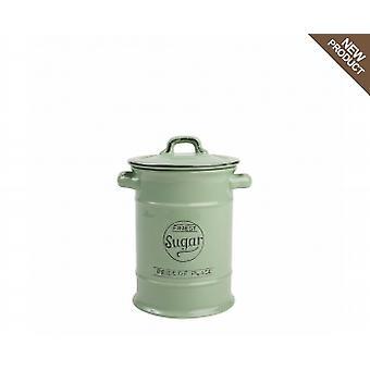 Pride Of Place Sugar Jar In Old Green 10502