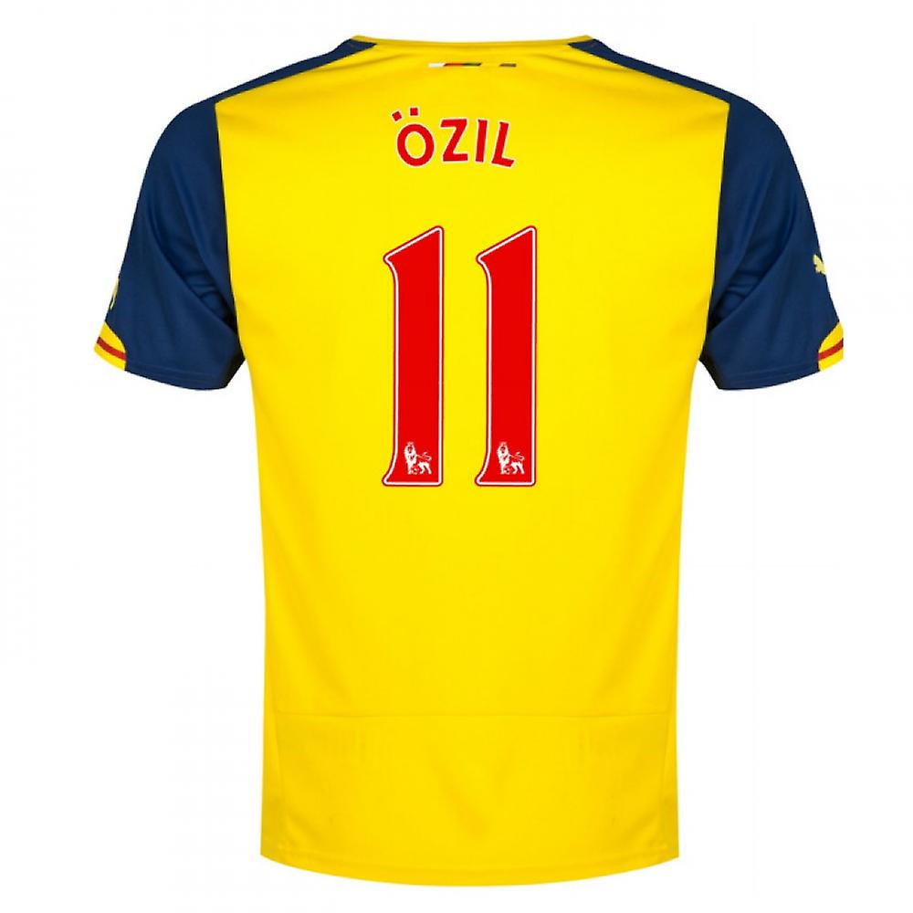 2014-15 Arsenal Away Shirt (Ozil 11) - Kids