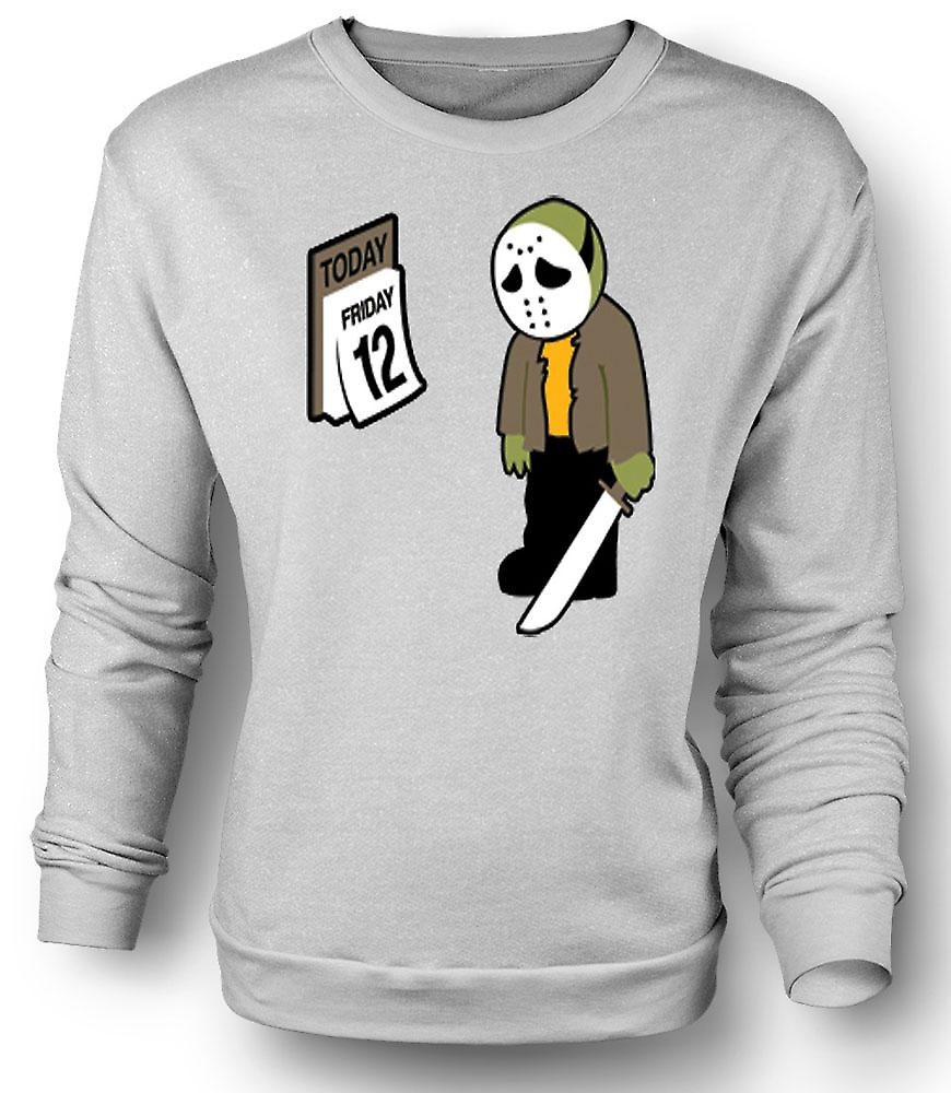 Mens Sweatshirt vendredi 12 Jason Voorhees
