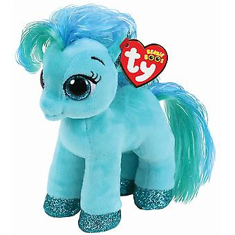 Ty Beanie Boo Topaz pony - blå-grøn