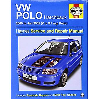 VW Polo Hatchback Petrol Service and Repair Manual: 2000 to 2002 (Haynes Service and Repair Manuals)