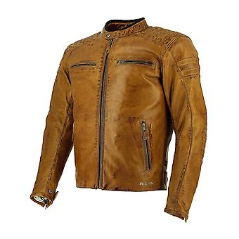 Richa Cognac Daytona 60s Motorcycle Leather Jacket