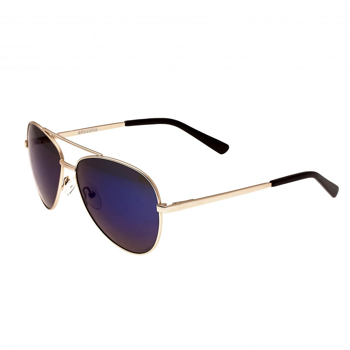 Bertha blanc Polarized Sunglasses - or violet-bleu