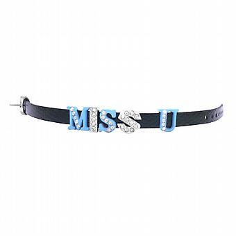 Miss U Bracelet Express w/ Miss U Letter On Your Wrist Watch Strap