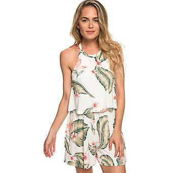 Roxy Marshmallow Tropical Love Favorite Song Womens Playsuit