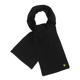 Lyle and Scott  Racked Rib Scarf  True  SV305CL