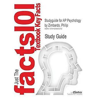 Studyguide para la psicología de AP por Zimbardo Philip ISBN 9780131960701 por comentarios de libros de texto de Cram101