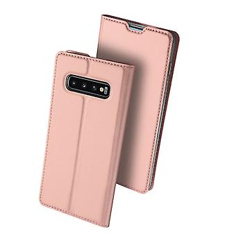 DUX DUCIS Pro Series pouch Samsung Galaxy S10 +-Rose Gold