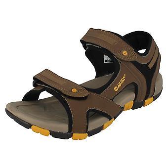 Childrens Hi-Tec Riptape-stroppen sandaler stil - GT stropp
