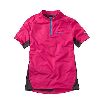 Madison Bright Berry 2017 Trail Kinder MTB Short Kurzarm Jersey
