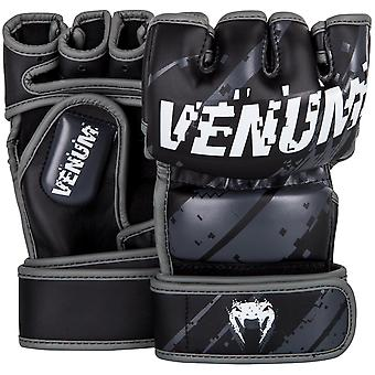 Venum Pixel MMA Gloves - Black/White