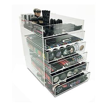 Paris 6 Tier Acrylic Cosmetic/Makeup Organizer