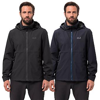 Jack Wolfskin Mens 2019 Evandale Waterproof Jacket